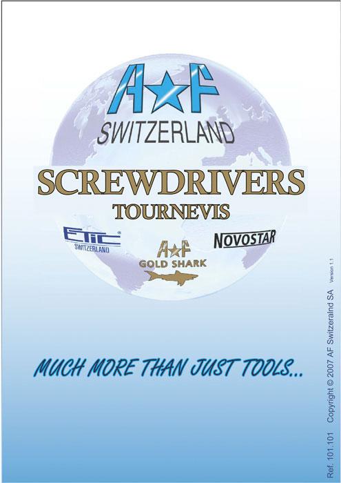 AF Switzerland Screwdrivers Tournevis