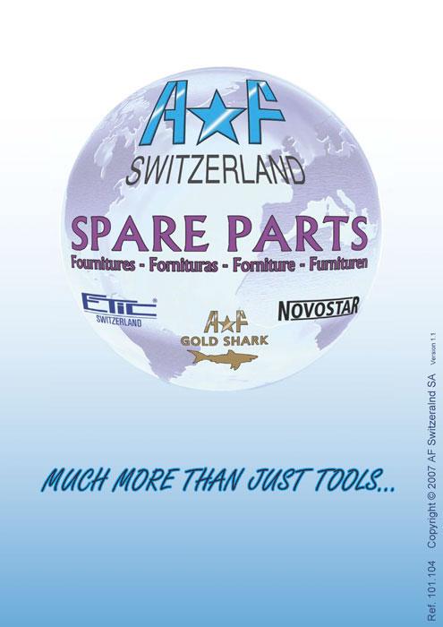 AF Switzerland SpareParts Fournitures